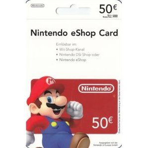 Nintendo eShop Card 50 EUR | Europe Account