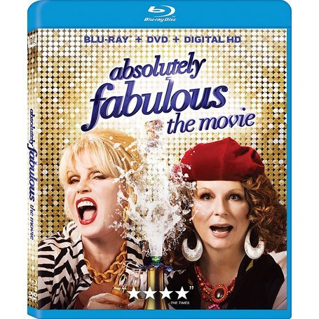 Absolutely Fabulous: The Movie (Blu-ray+DVD+Digital HD)