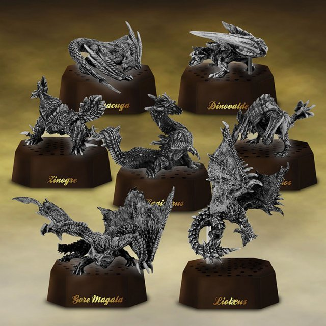 Capcom Figure Builder Monster Hunter Stone Model (Set of 6 pieces)