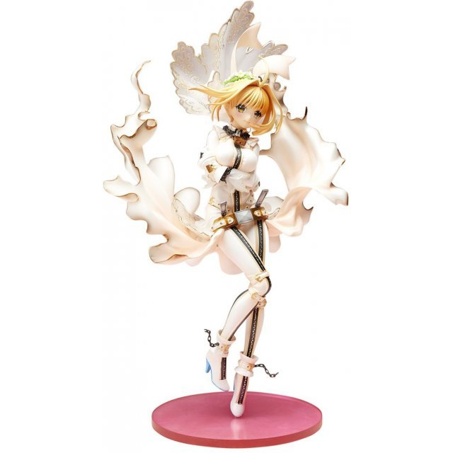 Fate/EXTRA CCC 1/8 Scale Pre-Painted Figure: Saber Bride Hobbymax Ver.