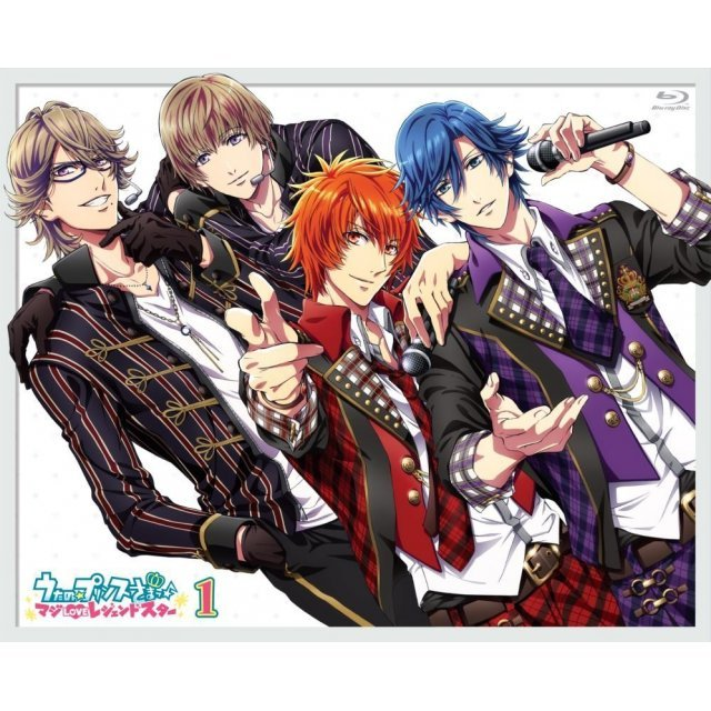 Uta No Prince-sama - Maji Love Legend Star 1 [Blu-ray+CD]