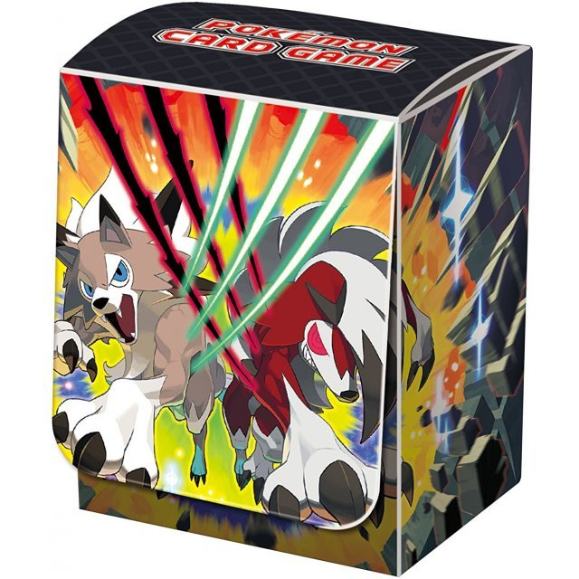 Pokemon Card Game Sun & Moon Deck Case: Lycanroc (Set of 10 pieces)