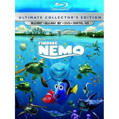 Finding Nemo 3D (Ultimate Collector's Edition)