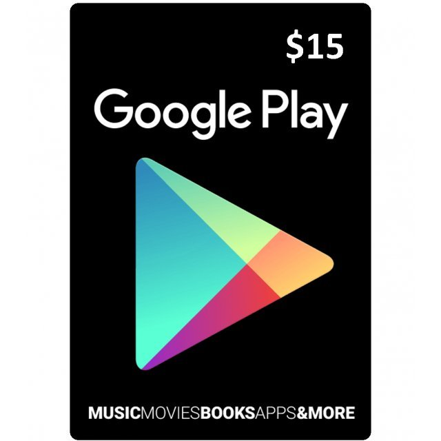 Google Play Card (CAD15 / for Canada accounts only) Digital