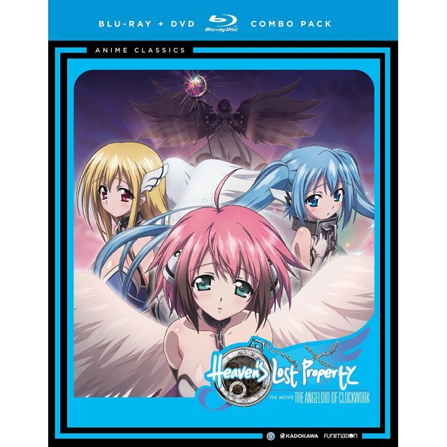 Heaven's Lost Property The Movie: The Angeloid of Clockwork - Anime Classics