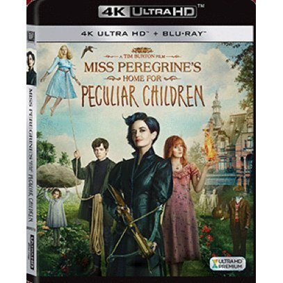 Miss Peregrine's Home for Peculiar Children (4K UHD+BD)