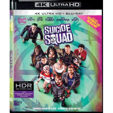 Suicide Squad - Extended Cut (4K UHD+BD) (2-Disc)