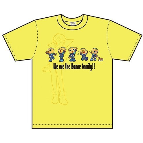Mega Man Legends T-shirt Servbots Yellow (L Size)
