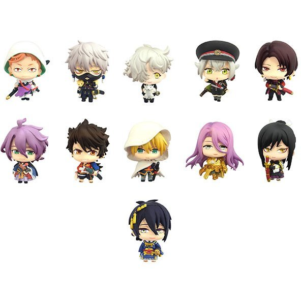 Color Collection Touken Ranbu -Online- (Set of 10 pieces)