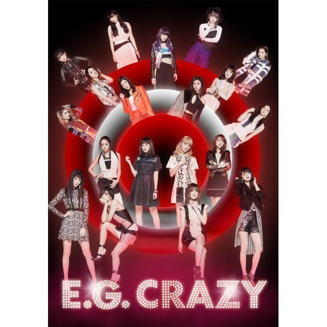 E.G. Crazy [2CD+3DVD Limited Edition]