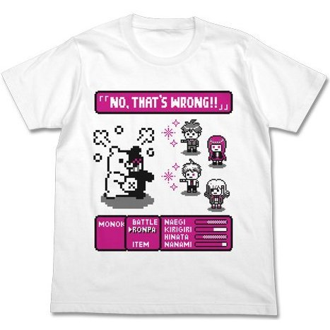 Danganronpa 3: The End Of Kibougamine Gakuen - Rpg T-shirt White (S Size) [Re-run]