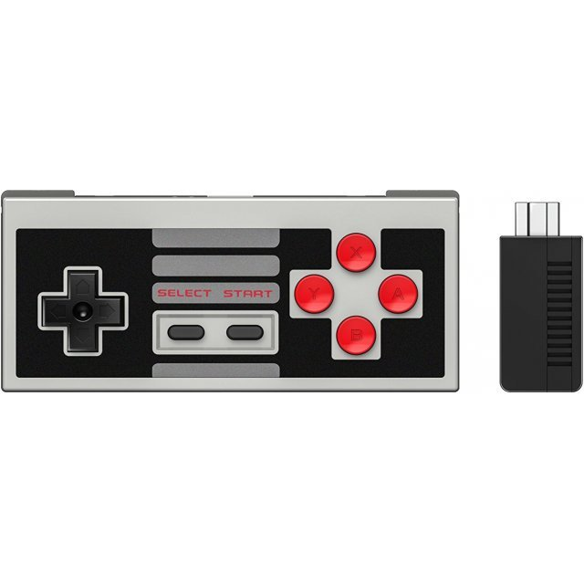 8Bitdo NES30 Classic Edition Set with Bluetooth Retro Receiver
