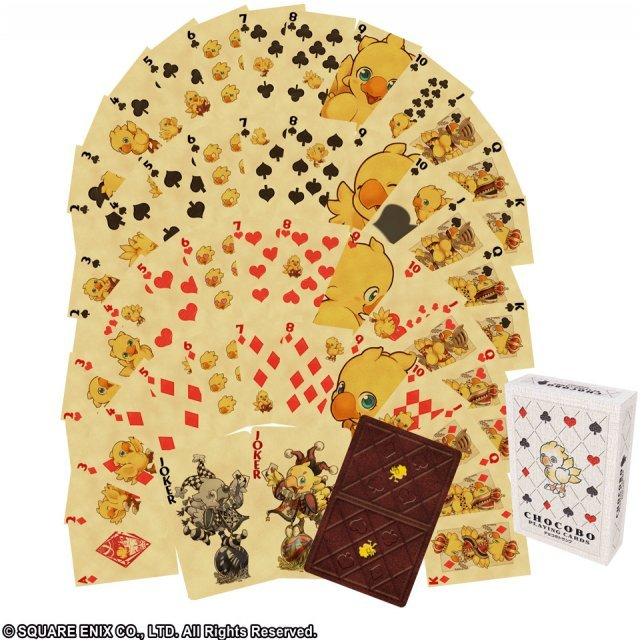 Chocobo Playing Card