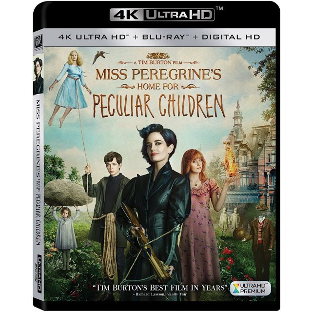 Miss Peregrine's Home for Peculiar Children [4K Ultra HD Blu-ray]