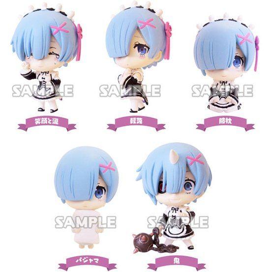 Re:Zero kara Hajimeru Isekai Seikatsu Rem ga Ippai Collection Figure (Set of 6 pieces)