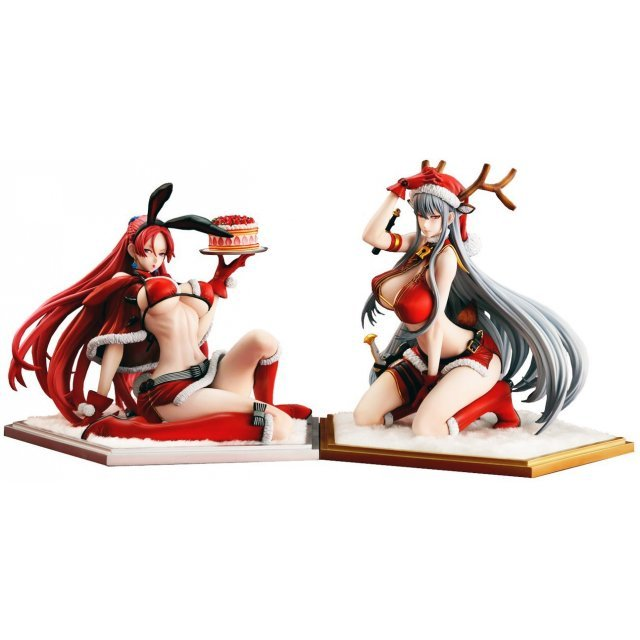 Valkyria Chronicles Duel 1/7 Scale Pre-Painted Figure: Selvaria Bles / Juliana Everhart -X'mas Party Set-