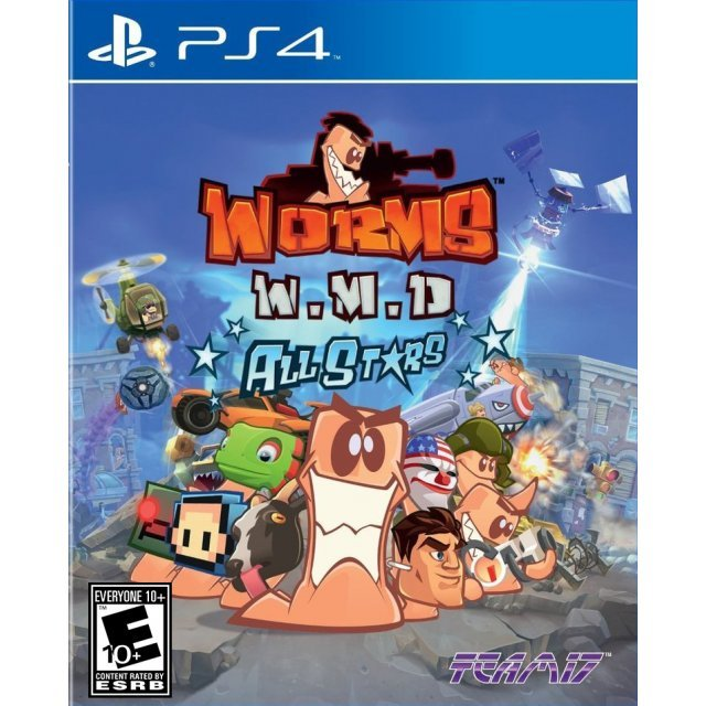 Worms WMD All Stars (3D Cover)