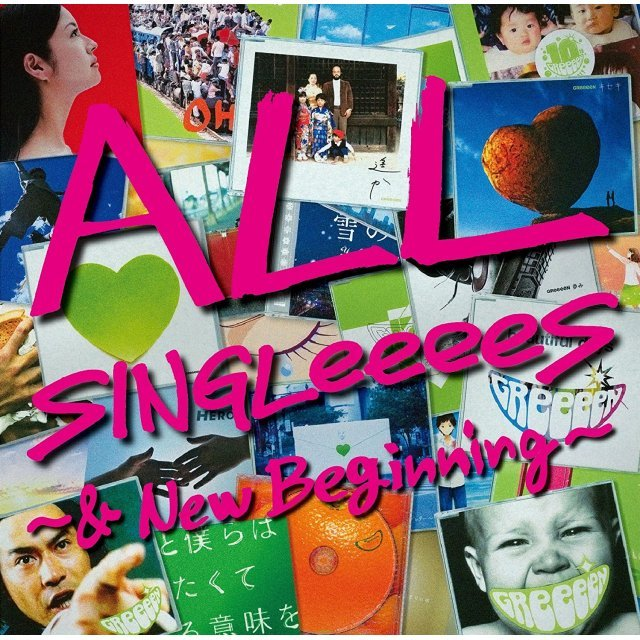 All Singleeees - And New Beginning [2CD+2DVD Limited Edition]