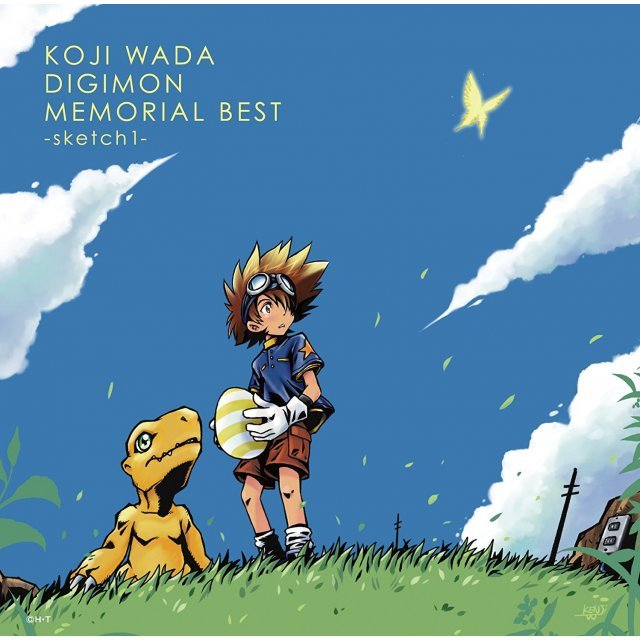 Koji Wada Digimon Memorial Best - Sketch1 [Limited Pressing]