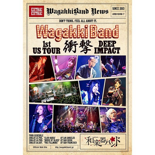 Wagakki Band 1st Us Tour Shogeki - Deep Impact [Limited Edition]