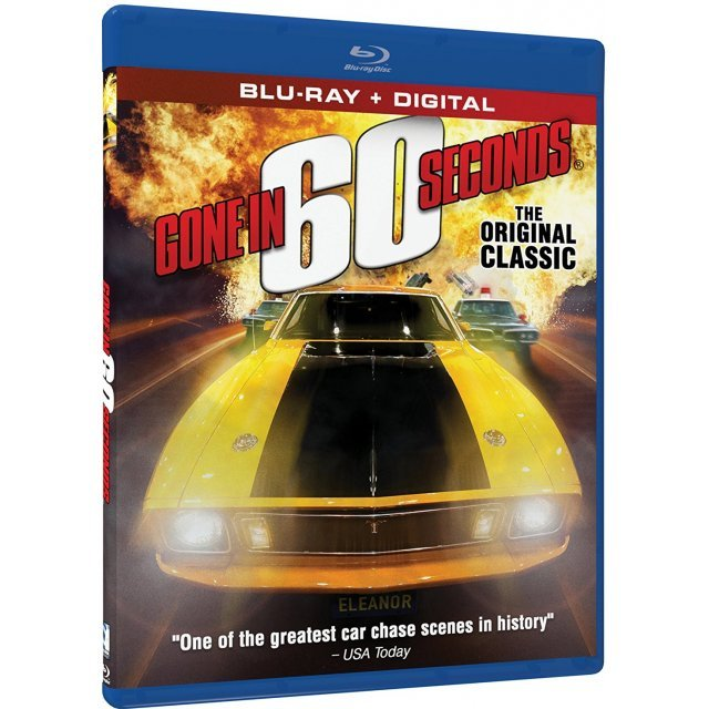 Gone in 60 Seconds [Blu-ray+Digital HD]