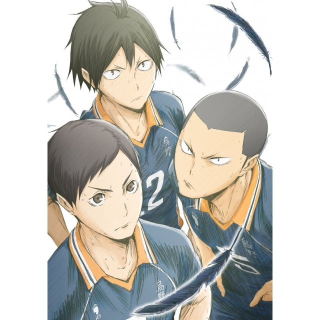 Haikyu!! Karasuno High School Vs Shiratorizawa Academy Vol.4