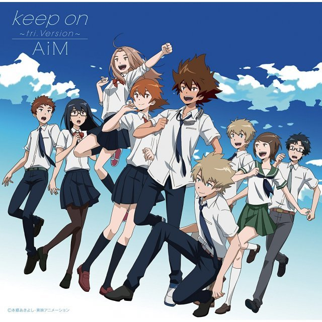 Keep On - Tri.Version (Digimon Adventure Tri. 4: Loss Outro Theme)