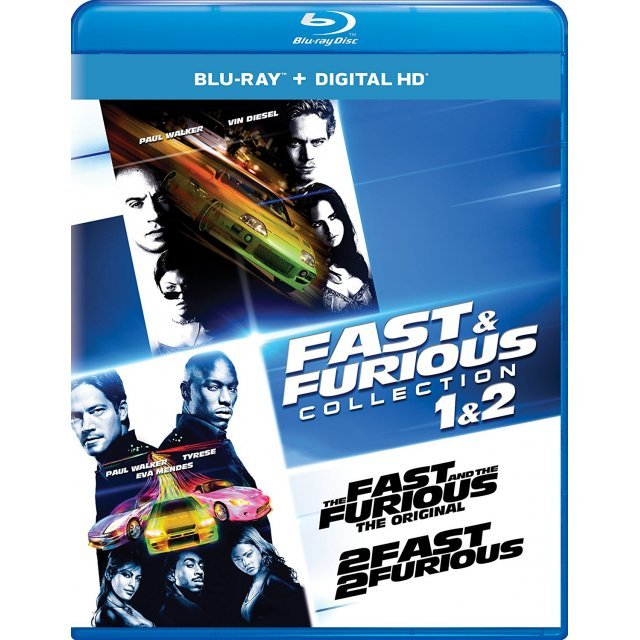 Fast & Furious Collection: 1 & 2  [Blu-ray+Digital HD]