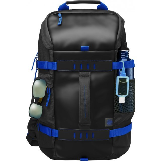 HP 15.6 Odyssey Backpack (Black/Blue)