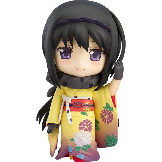 Nendoroid No. 722 Puella Magi Madoka Magica The Movie: Homura Akemi Kimono Ver.