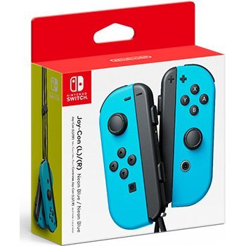 Nintendo Switch Joy-Con Controllers (Neon Blue)