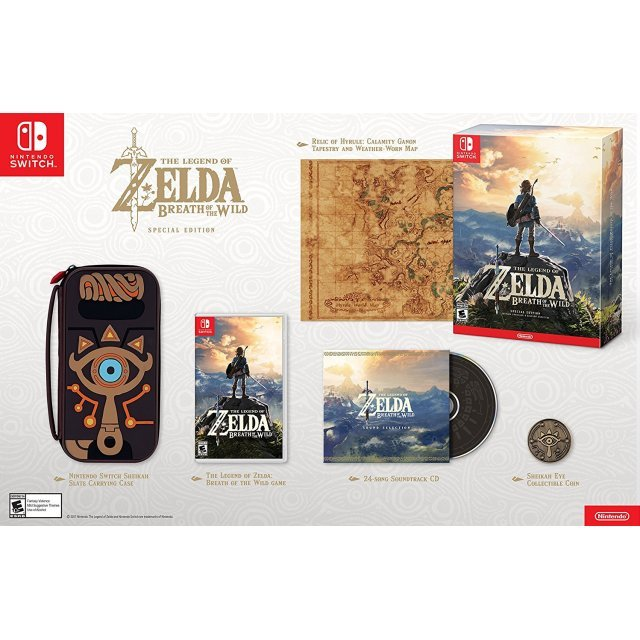 The Legend of Zelda: Breath of the Wild [Special Edition]