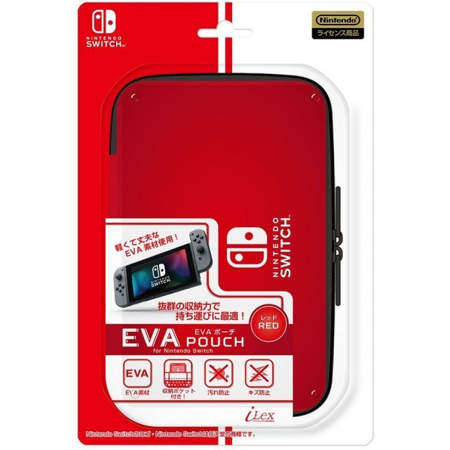 EVA Pouch for Nintendo Switch (Red)