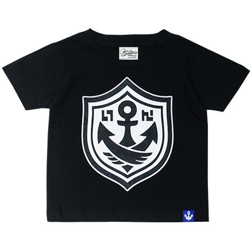 Splatoon - Gachi T-shirt Black - Kids Size 130cm