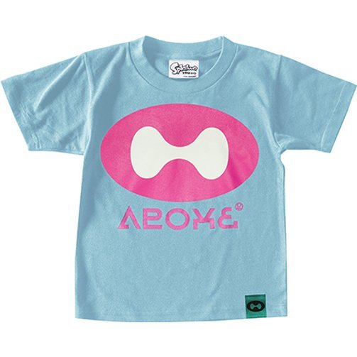Splatoon - Ikanome T-shirt Light Blue - Kids Size 140cm