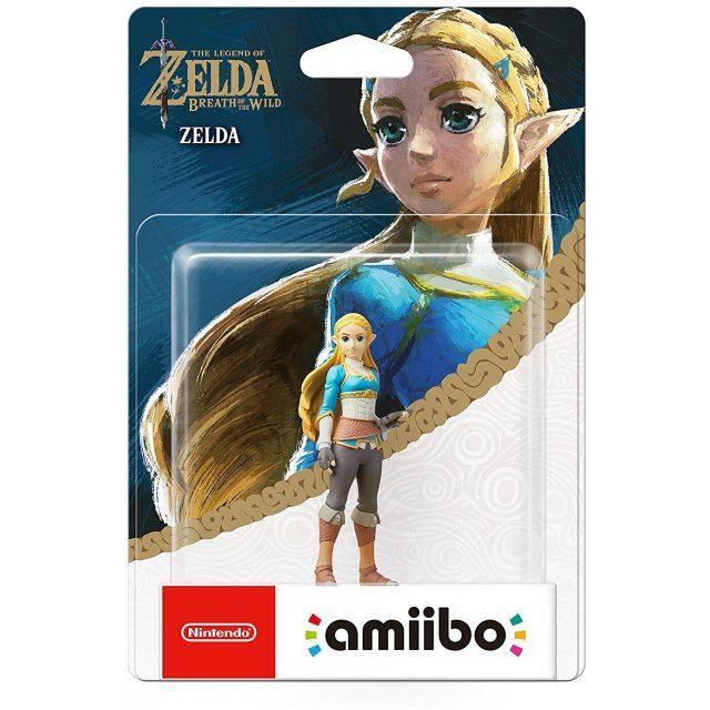 Amiibo The Legend Of Zelda Breath Of The Wild Series Figure Zelda