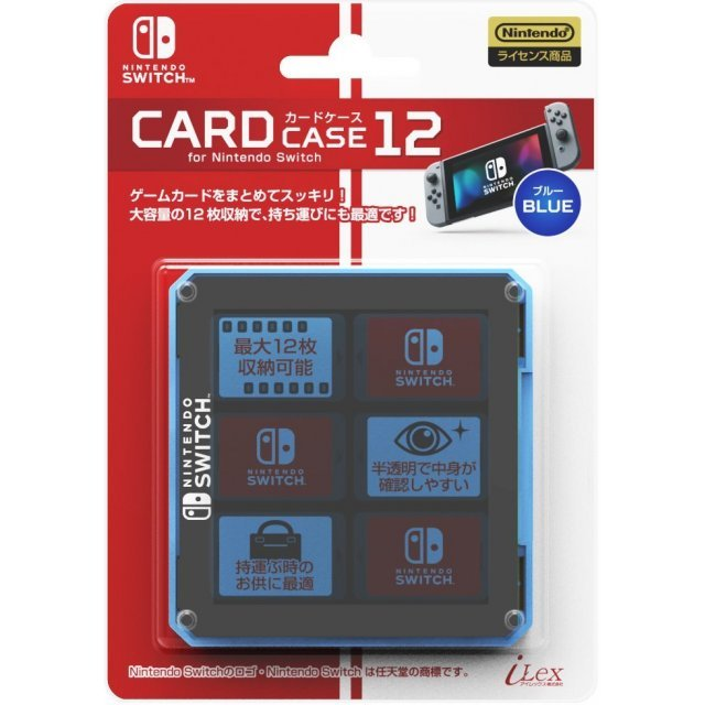 Nintendo Switch Card Case 12 (Blue)