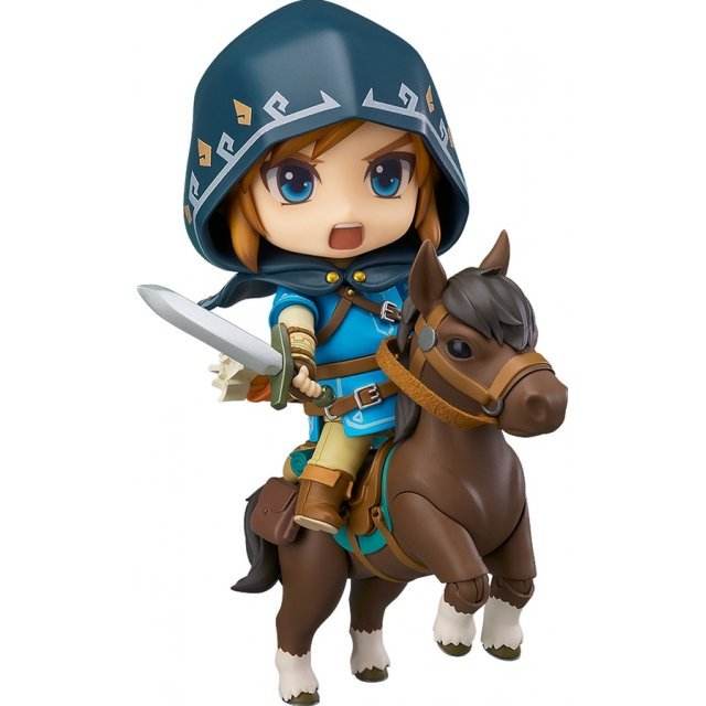 Nendoroid No. 733-DX The Legend of Zelda Breath of the Wild: Link Breath of the Wild Ver. DX Edition