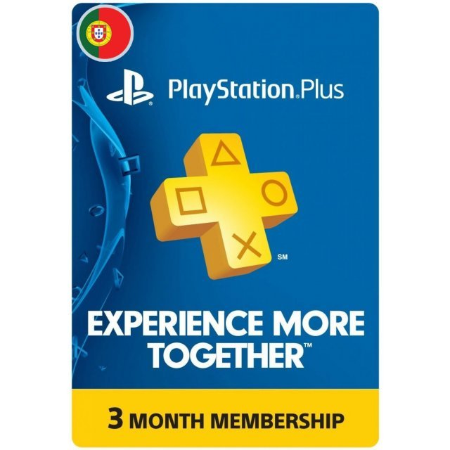 PSN Card 3 Month | Playstation Plus Portugal