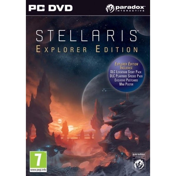 Stellaris [Explorer Edition] (DVD-ROM)