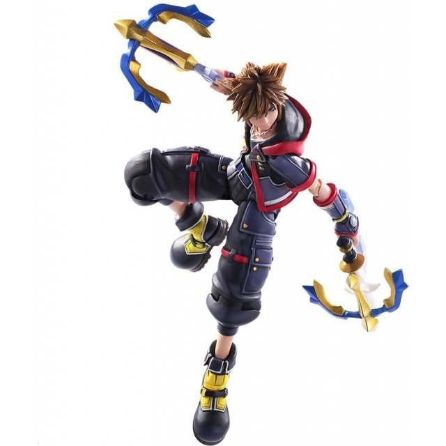 Kingdom Hearts III Bring Arts: Sora