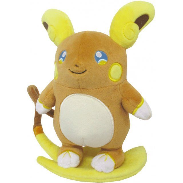 Pocket Monsters All Star Collection Plush: Raichu (Alola Form) (S)