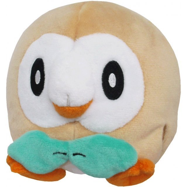 Pocket Monsters All Star Collection Plush: Rowlet (S)