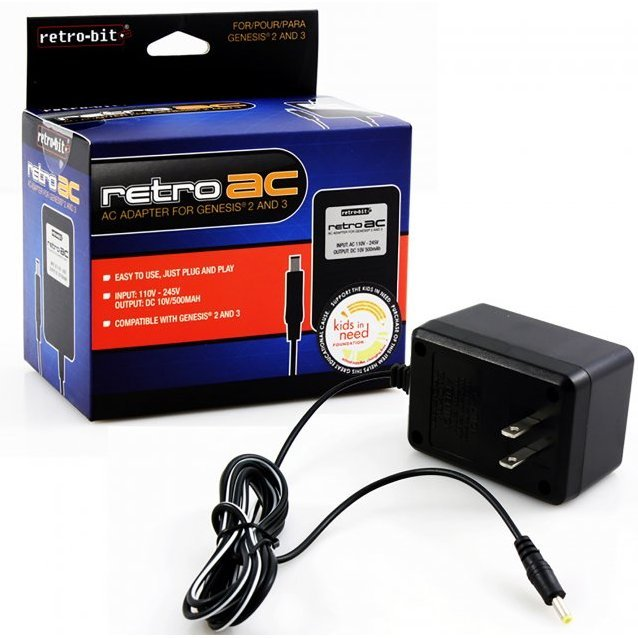 RetroGEN AC Adapter For Genesis 2 & 3