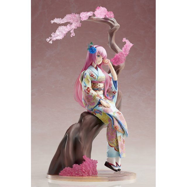 Vocaloid 1/8 Scale Pre-Painted Figure: Megurine Luka -Hanairogoromo-