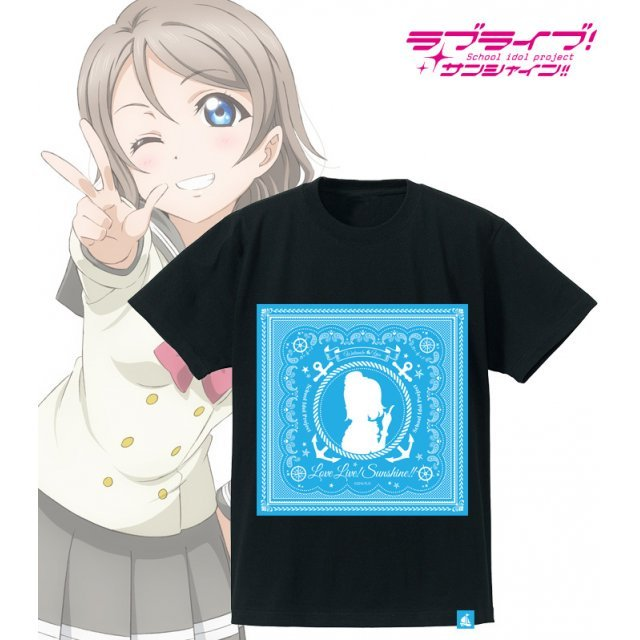 Love Live! Sunshine!! Bandana T-shirt Watanabe You (Mens XL Size)