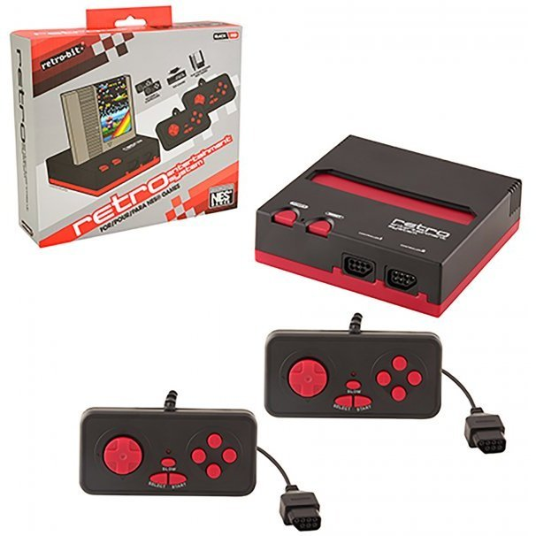 NES 8-Bit Top Loader (Red & Black)