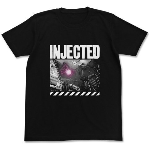 Shin Godzilla Injected T-shirt Black (M Size) [Re-run]