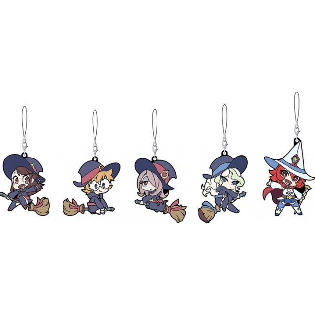 Little Witch Academia Collectible Rubber Straps (Set of 5 pieces)
