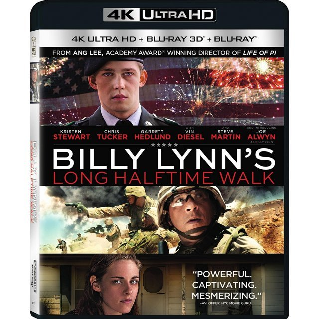 Billy Lynn's Long Halftime Walk [4K Ultra HD Blu-ray]